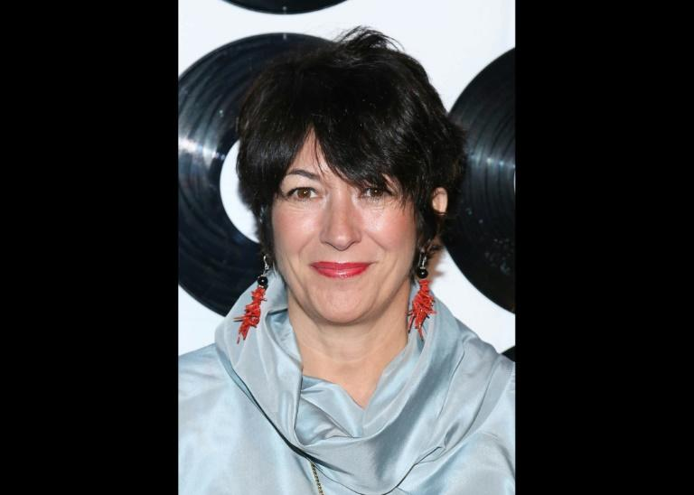 This file photo taken on May 6, 2014 shows Ghislaine Maxwell, the jet-setting daughter of late British media mogul Robert Maxwell; she was a close aide to Jeffrey Epstein and has been elusive since his death by suicide on August 10, 2019 (AFP Photo/Rob Kim)