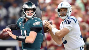 Follow live: Wentz returns to take on Luck, Colts
