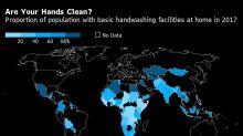 Covid se espalha rápido porque bilhões sofrem com falta de água