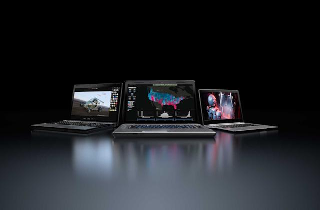NVIDIA is bringing pro-level Quadro RTX GPUs to laptops