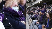 'Too risky': Concerns as 25,000 fans flock to AFL derby