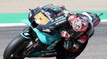 El equipo Petronas confirma que Fabio Quartararo no tiene nada roto