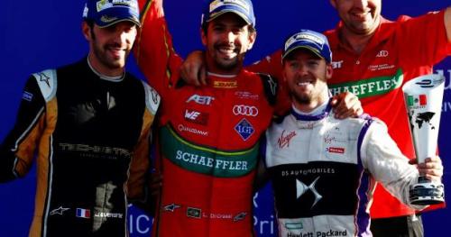 Auto - Formule E - MEX - Fin de série pour Buemi, la victoire pour Di Grassi