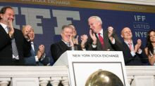 IFF Celebrates Completion of Frutarom Combination with Ringing of NYSE Opening Bell