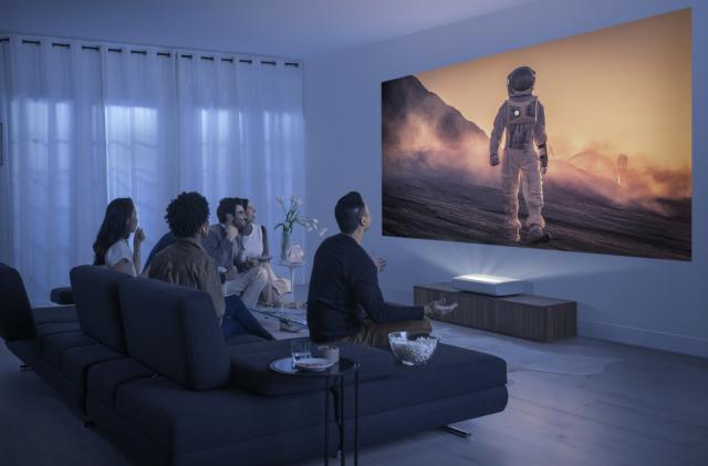 Samsung's Premiere 4K ultra short throw is the first projector certified for HDR10+