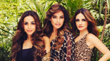 Wild girls Sussanne, Malaika and Bipasha rock the animal prints in this picture