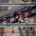 Hong Kong train derailment triggers rush-hour chaos and passengers injuries
