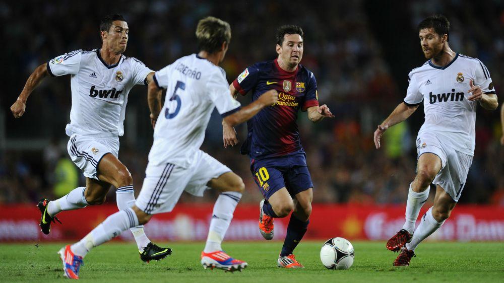 Quando Cristiano Ronaldo 'enlouqueceu' após uma falta em Messi