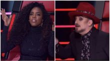 The Voice coaches clash over cheating scandal
