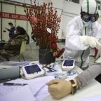 Chinese officials optimistic as new coronavirus cases continue to fall