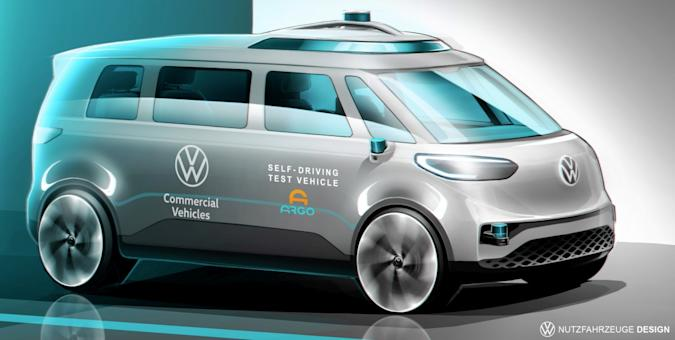 Volkswagen Commercial Vehicles moves ahead with Autonomous Driving R&D for Mobility as a Service