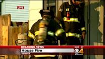 Family Of 5 Escapes Overnight House Fire, Taken To Hospital