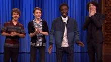 'Stranger Things' kids get down in the upside down on 'Tonight Show' dance off