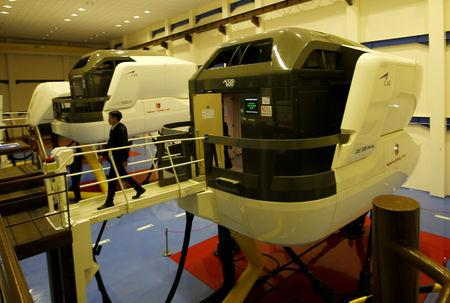 A pilot of Lion Air Group leaves an aircraft simulator after a routine practice session at Angkasa Training Center near Jakarta, Indonesia, November 2, 2018. REUTERS/Willy Kurniawan