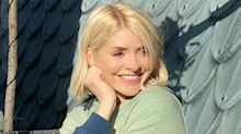Holly Willoughby's tie-dye M&S jumper is ideal for chilly evenings