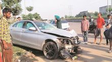 Mohali: Swiggy delivery boy killed as Mercedes car hits motorcycle