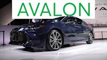 2018 Detroit Auto Show: 2019 Toyota Avalon Goes High Tech