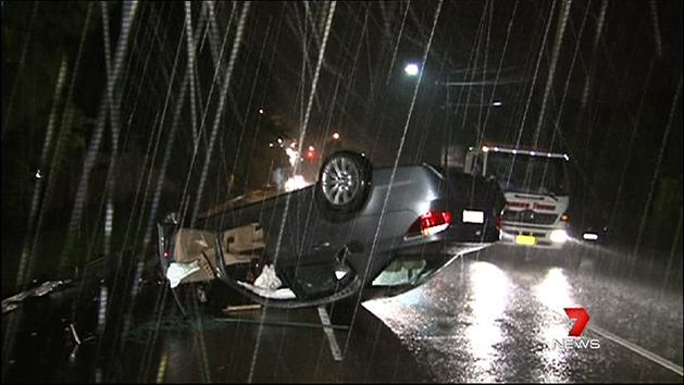 Wet weather continues to pound Sydney