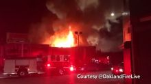Fire at California loft party kills at least nine, two dozen missing
