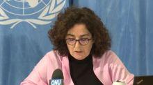 """ONU denuncia respuesta """"fundamentalmente represiva"""" de policía a manifestaciones en Chile"""