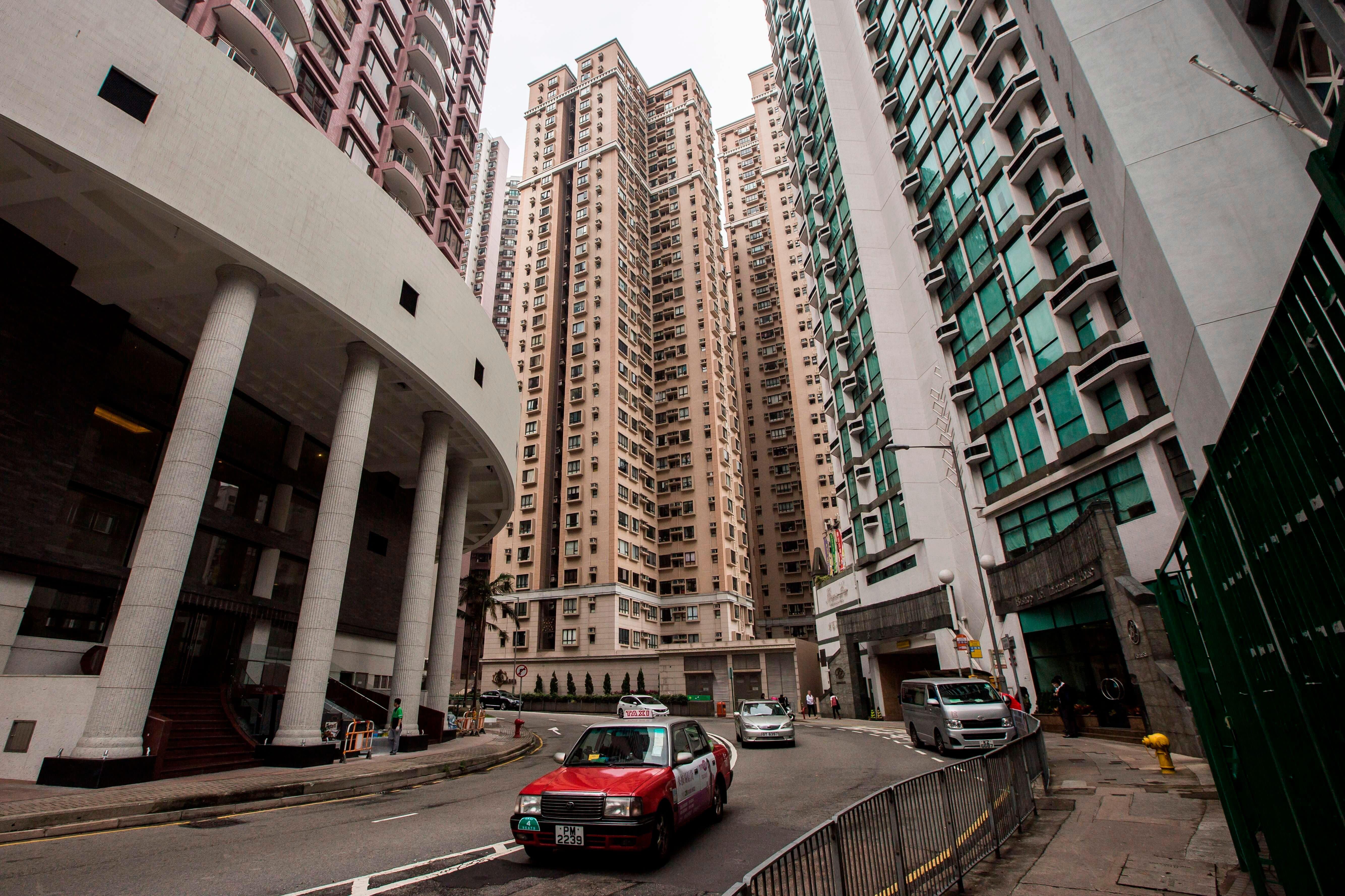 Sky-high Hong Kong home prices may not last as trade war bites