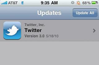 Twitter for iPhone (Tweetie 3.0) slowly going live around the world