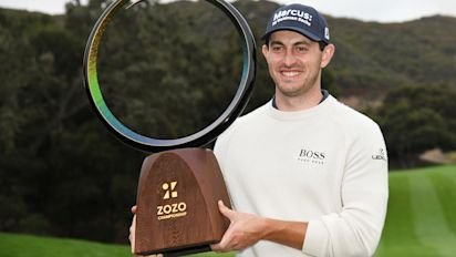 Cantlay rallies to win Zozo Championship