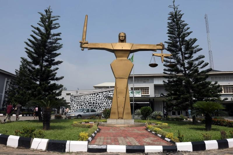 A general view of the Federal High Court in Lagos