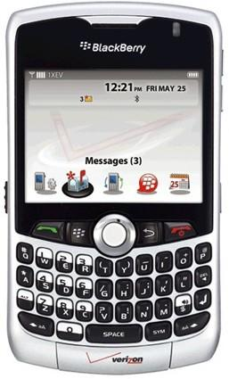 BlackBerry Curve 83XX overtakes iPhone 3G in US smartphone rankings