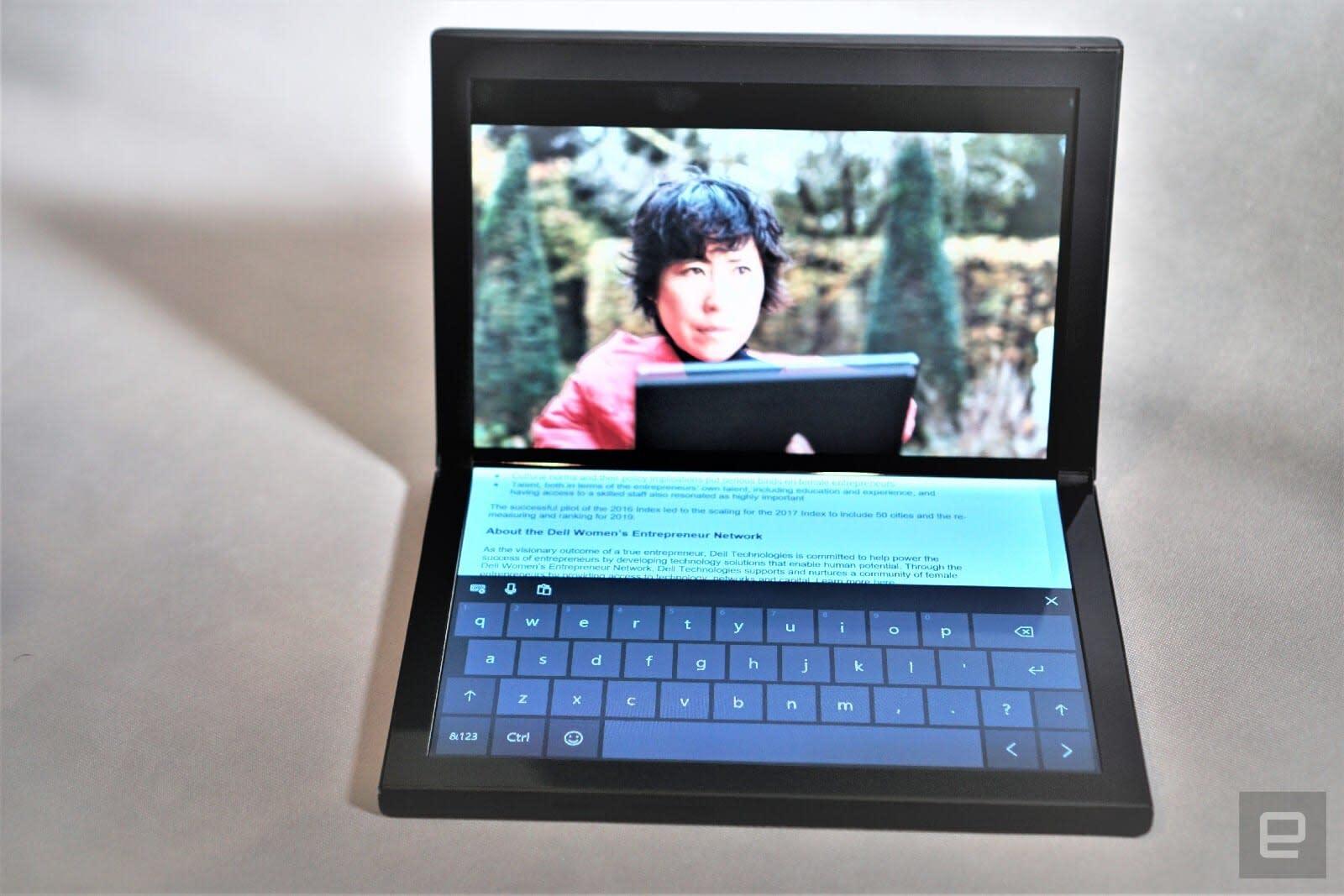 Dell Concept Ori folding screen