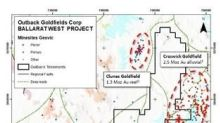 Outback's Ballarat West Exploration Licence has been Granted