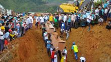 More bodies to be buried in mass grave after Myanmar jade mine landslide