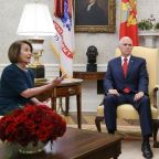 Donald Trump's 'manhood' questioned by Nancy Pelosi after wild White House meeting