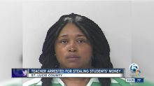 Criminal justice teacher arrested, accused of stealing money from students, school
