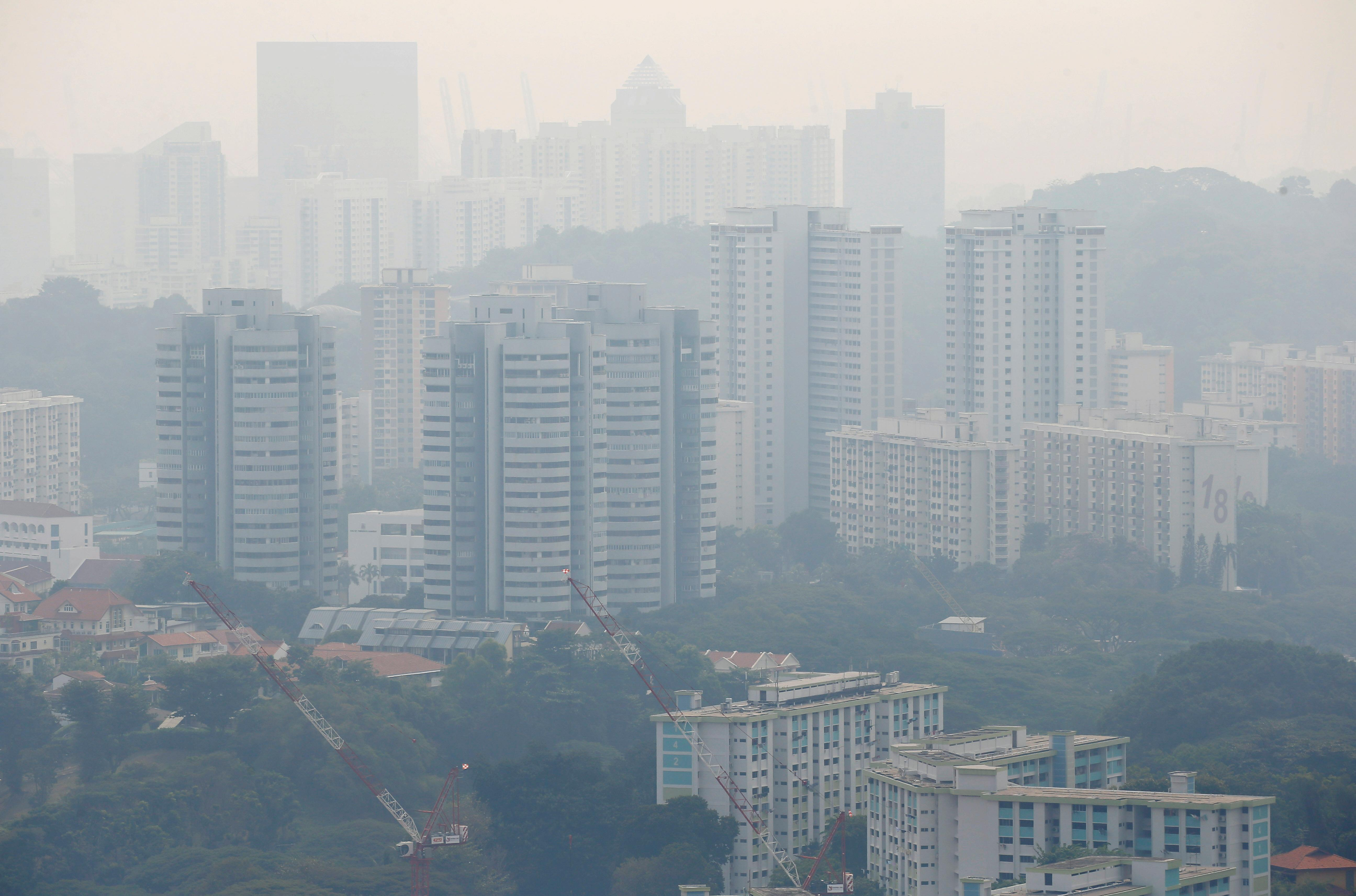 Singapore's air worsens to 'unhealthy' levels: Asia haze update