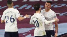 Foot - ANG - Manchester City reprend ses distances dans la course au titre en battant Aston Villa