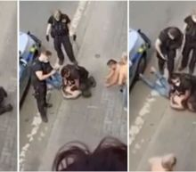 'No George Floyd': Czech police defend officers who knelt on neck of Roma man who later died