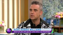 Robbie Williams explains World Cup gaffe