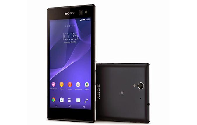 Sony belatedly gets in on the selfie trend with the Xperia C3