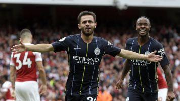 Man City bosses Arsenal to open title defense