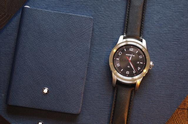 Montblanc's first smartwatch is the luxury Summit