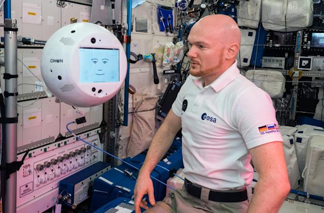 The ISS' spherical robot helper has returned to Earth