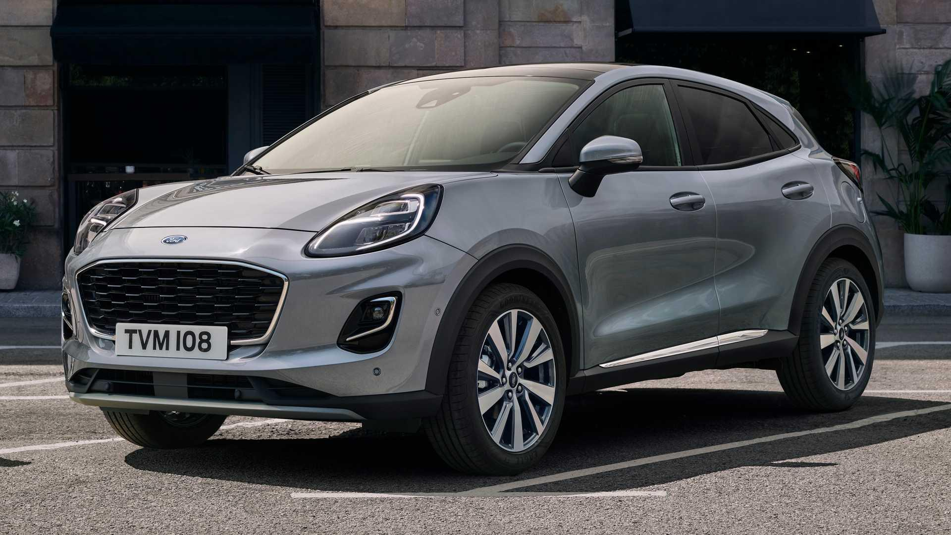 2020 Ford Puma Titanium X Debuts In Europe With Lots Of Kit