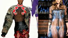 49 nakedest looks at New York Fashion Week