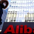 Alibaba reports first loss as a public company
