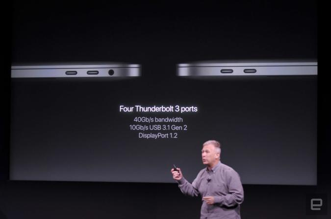 The new MacBook Pro goes all-in on Thunderbolt and USB-C