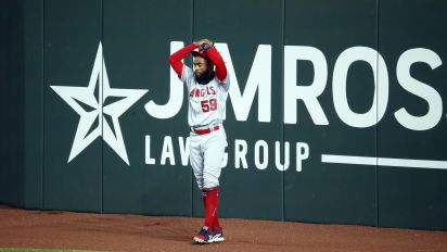 Angels OF channels inner Canseco with HR blunder