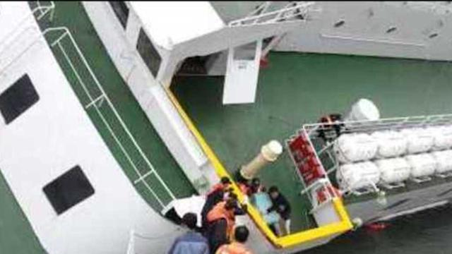 Captain Leaves South Korea's Sinking Sewol Ferry