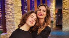 Luciana Gimenez sobre Lucas Jagger morar no exterior: 'Coisa mais difícil da vida'