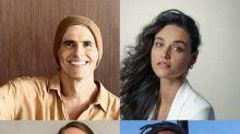 Reynaldo Gianecchini, Débora Nascimento, Mariana Ximenes e Jonathan Azevedo são um 'Amor de quarentena' pelo WhatsApp